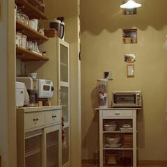 ナチュラル/ホワイト/キッチン/キッチン雑貨/雑貨/家具/... キッチンが好き♡
