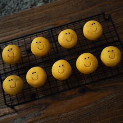 おめでとう/幸せに……/笑顔/プレゼント/スマイル/スイートポテト/... ㊗️バスクチーズケーキでお祝い💐(3枚目)