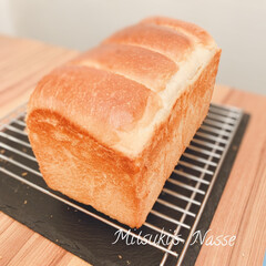 ミルクブレッド/おうちパン/おうちごはん/Mitsuki's  Nasse/手づくりパン/手作りパン/... 明日の朝食の為に、夕方からパン作りをして…