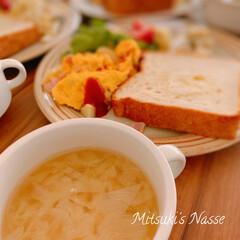 ワンプレートごはん/ワンプレート朝食/ワンプレート/ワンプレート朝ごはん/おうちごはん/Mitsuki's nasse/... 今朝の朝食はトーストを食べました🍞 昨夜…(2枚目)