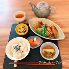 家庭料理/今日の晩ご飯/今日のごはん/春野菜/ピクルス/キムチスープ/... 今日の夕食😋手羽先のオイスターソース煮込…