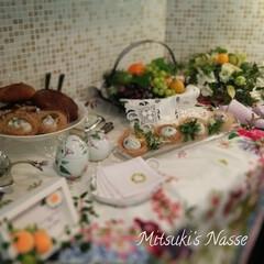 テーブルコーディネート/テーブルコーデ/テーブルクロス/Mitsuki's nasse/キッチンと暮らす。/LIMIAな暮らし/... もうすぐイースター🥚春分の日後の満月を迎…