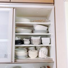 リミアな暮らし/LIMIAな暮らし/Mitsuki's nasse/キッチン/カップボード/テーブルウェア/... ステイホーム週間🏠我が家のキッチン雑貨を…