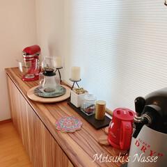 HARIO ハリオ ティードリッパーラルゴスタンドセット TDR-8006T ティーポッド 紅茶 アイスティー | ハリオ(ドリッパー)を使ったクチコミ「我が家のキッチンカウンターです。 先日購…」
