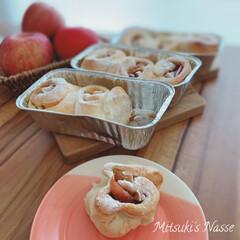 美味しいパン/手作りパン工房/手づくりパン/手作りパン/Mitsuki's nasse/おうちごはん/... シナモンアップルを入れて、水を全く使わず…(3枚目)