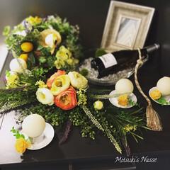 インテリア雑貨/インテリア/LIMIAな暮らし/リミアな暮らし/Mitsuki's Nasse/新生活/... キッチンコーナーの片隅のアーティフィシャ…