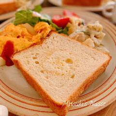 ワンプレートごはん/ワンプレート朝食/ワンプレート/ワンプレート朝ごはん/おうちごはん/Mitsuki's nasse/... 今朝の朝食はトーストを食べました🍞 昨夜…(3枚目)