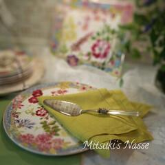 ケーキサーバー/ケーキ皿/Mitsuki's nasse/LIMIAな暮らし/リミアな暮らし/テーブルコーデ/... 大好きなジアン のミルフルールシリーズの…