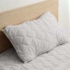 枕/寝具/夏寝具/ひんやり/ひんやりマット/枕カバー/... ドライコットン100% 枕パッド mof…