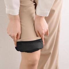 ペチパン/ぺ千パンツ/下着/インナー/パンツ/アンジェ/... 裾を床につけさせない ワイドパンツ用 さ…
