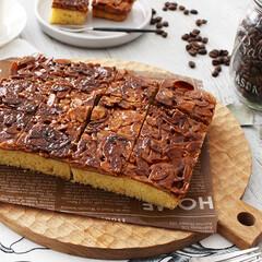 ケーキ/レシピ/フロランタンケーキ/フロランタン/おうちスイーツ/ホットケーキミックス/... 「HMで作るフロランタンケーキ」