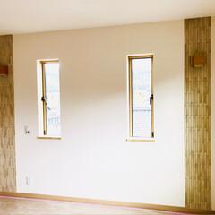 LIXIL/エコカラット/新築/リノベーション/あなたの街の/ハウスドクター/... 主寝室の壁一部にワンポイントアクセントで…