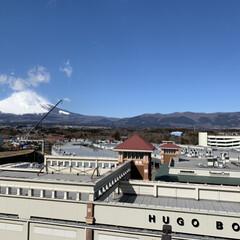 今日の富士山 今日の富士山  アウトレットモールと御殿…