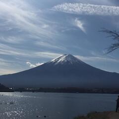 ドライブ/紅葉スポット/富士山/河口湖/おでかけ/風景/... 先週末の富士山〈河口湖畔にて〉 この日は…