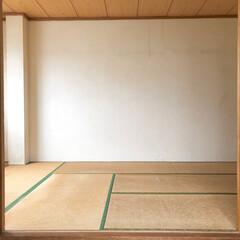 漆喰/ジョイントマット/パレットベッド/寝室/和室/和室リフォーム/... 和室のリノベーションをしました。 2枚目…(3枚目)