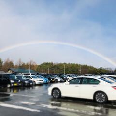 綺麗/虹/風景 途切れること無く 綺麗な虹かかってたので…