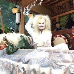 お祭り/天狐/お囃子 娘の天狐も板についてきました!