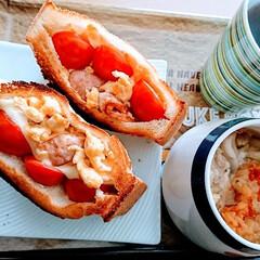 朝食/おうちごはんクラブ/わたしのごはん おはようございます🌞  かなりボリュ~ミ…