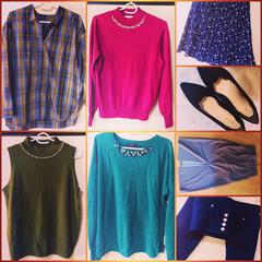ファッション/おすすめアイテム/暮らし/フォロー大歓迎 今年は服のテイスト変えます🧡 今まで着た…(1枚目)