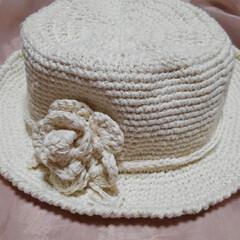 帽子/ハンドメイド/第2回わたしのハンドメイド/ハンドメイド作品/手作り/LIMIA手作りし隊 るっちゃんなしの 夏用帽子です(3枚目)