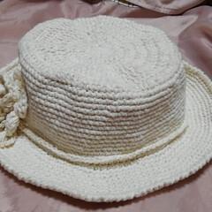 帽子/ハンドメイド/第2回わたしのハンドメイド/ハンドメイド作品/手作り/LIMIA手作りし隊 るっちゃんなしの 夏用帽子です(1枚目)