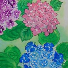花のある暮らし/初夏 紫陽花やテッセン  初夏を彩る代表作とし…(4枚目)