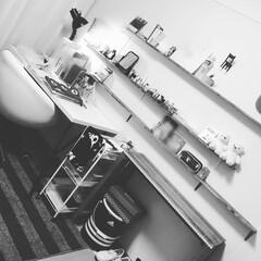 DIY/100きん 娘の部屋 イケヤの机と椅子で模様替えつい…