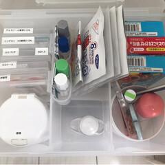 ダイソー/セリア/100均/収納/住まい/おすすめアイテム/... 嵩張りやすい薬などは箱からだしてカードケ…(1枚目)
