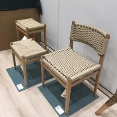 ダイニングチェア/椅子 /住まい/暮らし ペーパーコードの椅子を作りました。