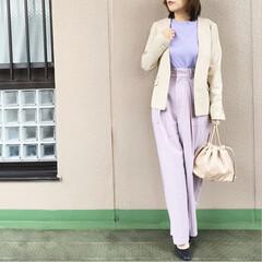 ユニクロコーデ/今日のコーデ/プチプラコーデ/ママコーデ/guコーデ/ファッション 気分が上がらない日は、カラーコーデで元気…