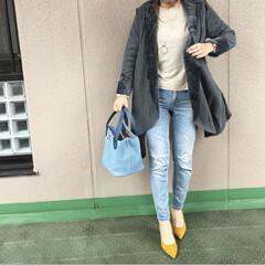 ママコーデ/プチプラコーデ/今日のコーデ/ファッション カジュアルだった日のコーディネート👖 Z…(1枚目)