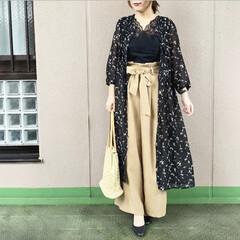 ユニジョ/ファッション/今日のコーデ/通勤コーデ/プチプラコーデ UNIQLOの小花柄ワンピース👗 そのま…