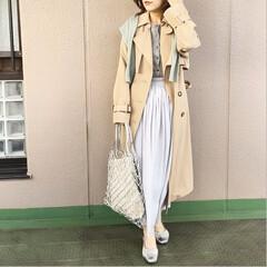ユニクロコーデ/ママコーデ/プチプラコーデ/今日のコーデ/ファッション ここんとこ、羽織りといったらトレンチに頼…