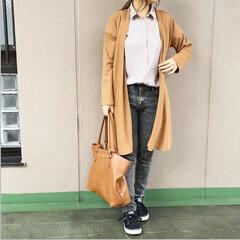 guコーデ/ママコーデ/プチプラコーデ/今日のコーデ/ファッション カジュアルだった日👖 中に着てるGUのエ…(1枚目)