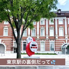 東京駅 旦那様の昼間の仕事は東京駅だったそうです…(1枚目)