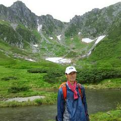 富士山/木曽駒ヶ岳/梅雨の晴れ間 木曽駒ヶ岳 南アルプスの稜線の後ろには富…(2枚目)