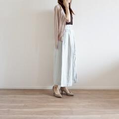 着まわし/カーディガン/GU/コーデ/ファッション/UNIQLO/... 今年流行りのシアーアイテム✨ UNIQL…