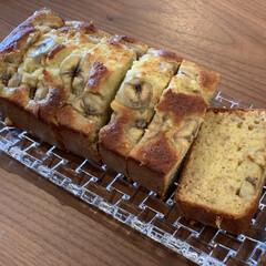 ホットケーキミックス 森永製菓 150g×2(お菓子、ホットケーキミックス)を使ったクチコミ「ホットケーキミックスとバナナでバナナケー…」