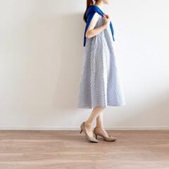 ワンピース/coca/UNIQLO/プチプラ/コーデ/ファッション 妊娠中に着ていたワンピース✨ 思ったより…