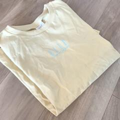 プチプラ/Tシャツ/ELLE/コラボアイテム/コラボ/春コーデ/... GUとELLEのコラボTシャツ✨ 可愛す…
