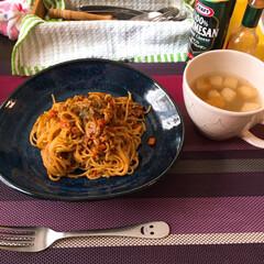 ごはん 久々に朝食にポケットサンドを作り、 お昼…(3枚目)