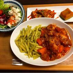 チキンのトマト煮 チキンのトマト煮で夕飯^_^(2枚目)