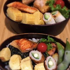 海苔弁/お弁当/わたしのごはん 今日は海苔弁!