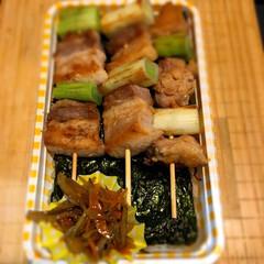 函館/北海道/ハセガワストア/ハセスト/やきとり弁当/わたしのごはん 北海道の函館、ハセストのやきとり弁当が食…