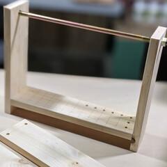 端材DIY/端材/簡単DIY/日曜大工/集成材/DIY ドーモ!いや〜さすがに同じ動作を4時間ほ…(5枚目)
