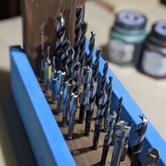 ビットストッカー/SPF1×4/グリーンパティナ/アイアンブラウン/ウォールナット/チョークブルー/... ドーモ!SPF1×4の良くない部分を使い…(10枚目)