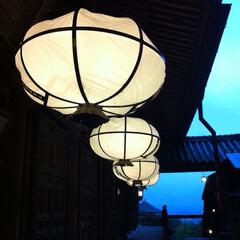 黄昏/夕暮れ/寺院/東大寺/旅行/風景/... この澄んだ空気と 背筋がシャンとするよう…