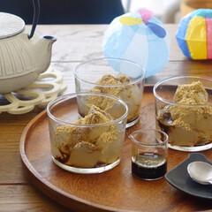 リミアな暮らし/わらび餅/お菓子作り/LIMIAFESTA/キッチン雑貨/暮らし 母から教わって一緒にわらび餅作りを。 甘…