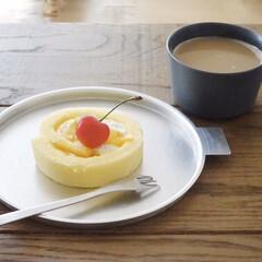 柳宗理 デザートフォーク | 柳宗理(フォーク)を使ったクチコミ「ファミマで新発売のキハチとのコラボスイー…」