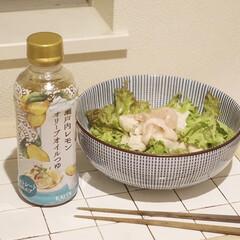 千段十草6.0ボール(鉢、ボウル)を使ったクチコミ「カルディで一目惚れして買った「瀬戸内レモ…」